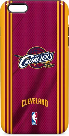 Cleveland Cavaliers Jersey iPhone 6 inkFusion Pro Case. Available as a case  or skin on 1d6075cd1