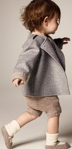 Cashmere and baby gift sets from the Burberry Autumn/Winter 2014 childrenswear collection