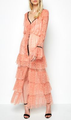 alice McCALL | alice McCALL Flamenco Dress Rose - alice McCALL
