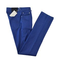 Blue, taken up a notch, in these BRIONI Meribel Slim Fit Extrafine Silk Denim Jeans!  |  Have at it! http://www.frieschskys.com/bottoms/jeans  |  #frieschskys #mensfashion #mensstyle #menswear #dapper #stylish #MadeInItaly #Italy #couture #highfashion