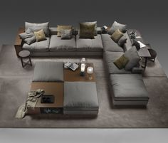 Modular sofa systems | Seating | Groundpiece | Flexform | Antonio ... Check it out on Architonic