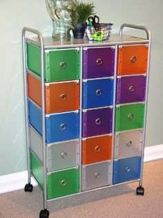 Ordinaire Darice® Rolling Craft Storage Cart With 15 Drawers | Pinterest | Drawers,  Storage And Craft