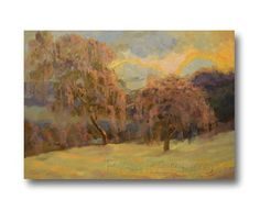 Impressionist Painting on Canvas Oil  Original by PysarArt on Etsy