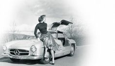 The 300 SL production sports car presented in 1954 - Forever glamorous