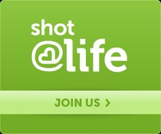 Give a child a Shot@Life by joining the campaign to immunize every one against 4 of the most common and deadly childhood diseases!