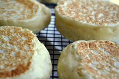 The View from Great Island | English Crumpets with Maple Pecan Butter