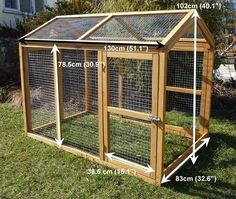 Building A DIY Chicken Coop If you've never had a flock of chickens and are considering it, then you might actually enjoy the process. It can be a lot of fun to raise chickens but good planning ahead of building your chicken coop w Chicken Coop Designs, Small Chicken Coops, Easy Chicken Coop, Portable Chicken Coop, Chicken Cages, Chicken Run Ideas Diy, Chicken Recipes, Chicken Feeders, Chicken Houses