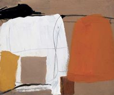 Roger Hilton, SEPTEMBER 1956 signed, titled and dated verso oil on canvas 25 x 30 inches x cm Abstract Art Images, Abstract Paintings, Bonnard, Action Painting, Medium Art, Abstract Landscape, Les Oeuvres, Art Inspo, New Art