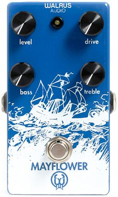 Walrus Audio Mayflower- Very clear and smooth sounding mid-gain overdrive pedal