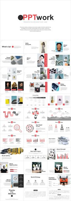 his PowerPoint template has one overview slide containing all the factors as SWOT matrix. Professional Powerpoint Templates, Creative Powerpoint Templates, Powerpoint Presentation Templates, Keynote Template, Powerpoint Free, Business Design, Business Company, Creative Business, Business Ideas