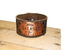 """Balance""  Leather Bracelet | SOUTH | Charleston, SC"