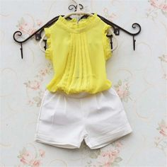 2016 New Summer Baby Clothes kids clothes fashion Lace chiffon vest children blu 32565 Toddler Girl Outfits, Little Girl Dresses, Boy Outfits, Baby Girl Fashion, Kids Fashion, Kids Frocks Design, Baby Dress Design, Baby Dress Patterns, Frocks For Girls