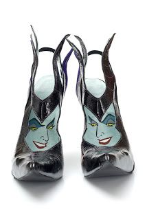 Kobi Levi- Footwear Design: Witch-Craft: Kobi Levi designs for Disney Villians
