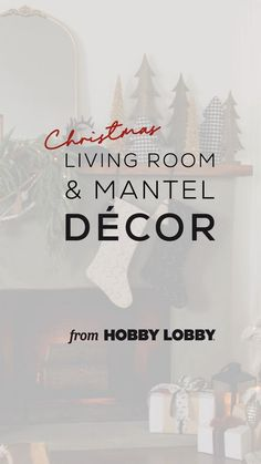 Discover three ways to decorate your living room for the Christmas season.