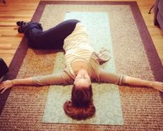 Stress relieving yoga - takes just a few minutes a day
