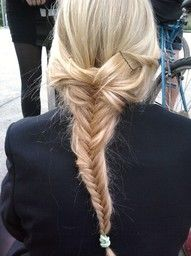 Fishtail braids are an obsession.