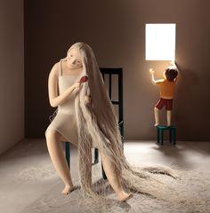 Irma Gruenholz y sus ilustraciones con plastilina | Domestika | http://www.domestika.org/es/irma-gruenholz