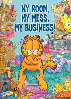 Custom Garfield Classic Bedroom Setting Home Decoration Photo Poster Prints Size 5075 Cm x 30 Inch) Wall Sticker Garfield Cartoon, Garfield Comics, Garfield Quotes, Garfield And Odie, Garfield Pictures, Funny Pictures, Princesas Disney Dark, Garfield Wallpaper, Comic Cat