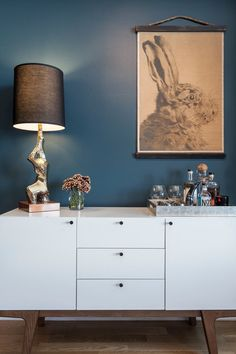 Paint is Newburgh Green by Benjamin Moore  Design by Contemporary  by Sheep + Stone