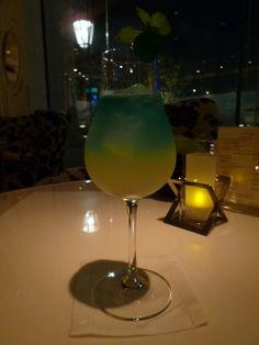 """""""Grand Bleu""""(Bar) di """"Hotel La Suite Kobe"""", Harborland Kobe Japan"""