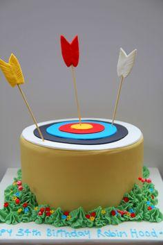 Robin Hood birthday cake