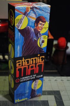 Jason P., TN - grabbed an Atomic Man box!