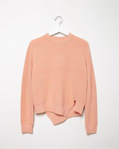 PROENZA SCHOULER | Side Slit Cashmere Blend Sweater | Shop at La Garonne