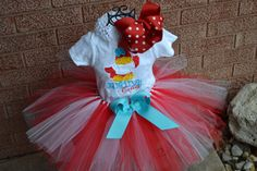 St. Louis Cardinals Tutu Set----Infant- 4/5--- Great for Birthdays, or Photography on Etsy, $45.00