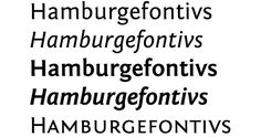 recommended fontS