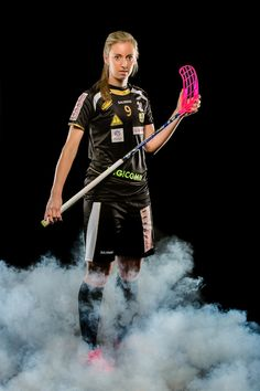 Portrait der schweizerischen Unihockeyspielerin Claudia Kunz / Portrait of the Swiss Floorball playe by André Burri on Punk, Portrait, Concert, Sport, Style, Fashion, Sports Women, Sports, Other