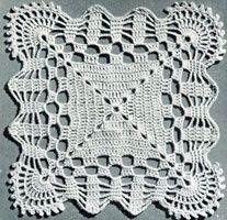 Cockle Shells Bedspread | Crochet Patterns