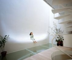 Hiroshi Nakamura's Kangaroo Pouch  The design concept of this home is to create intimacy between architecture and people. The Japanese architect Hiroshi Nakamura designed House SH located in Tokyo.
