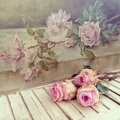 .. Shabby Chic Interiors, Shabby Chic Homes, Shabby Chic Decor, Cottage Plan, Shabby Cottage, Romantic Homes, Beautiful Homes, Floral Paintings, Cottages