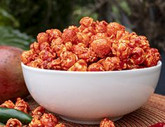 Ingredients: 5 gallons Monster Mushroom Popcorn® popped in white coconut oil 1 bag Mango Corn Treat Mix white coconut oil water 4 cups white sugar 1 Tbsp Ghost Pepper Flavacol® Flavored Popcorn, Gourmet Popcorn, Popcorn Recipes, Dog Food Recipes, Ghost Peppers, Stuffed Mushrooms, Stuffed Peppers, Sweet And Spicy, Recipes