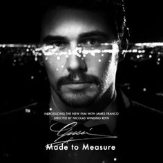 James Franco for Gucci's new Made to Measure cologne.
