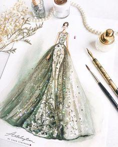 fashion illustration, art