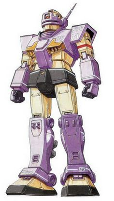 The RGM-79KC GM Interceptor Custom is a variant of the RGM-79SC GM Sniper Custom. It first appeared as a part of the MSV-R line and Legend of the Universal Century Heroes: MSV-R.