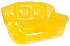 Canary Yellow Inflatable Bubble Couch