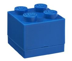 LEGO Mini Box 4 in blue, use it for legos, snacks, jewelry or whatever else you like.