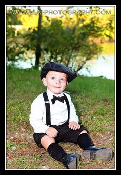 knickers with Hat Bow tie and Suspenders by finehandmadeclothing, $85.00