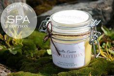 Home made Cocoa Vanilla bodylotion. Easy to make, great for your skin. / Purkillinen itse tehtyä vanilja-kookosvartalovoidetta. Helppo video-ohje blogissamme. Natural Cosmetics, Cocoa, Lotion, Herbalism, Easy, Gifts, Advent Calendar, Herbal Medicine, Presents
