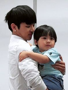Insoo and baby.....awww