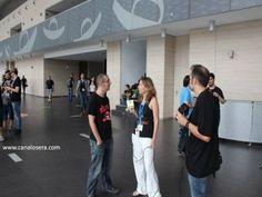 Kokhe Saeba en Osera TV, en el Salón del Comic de Alicante (Alicomic)