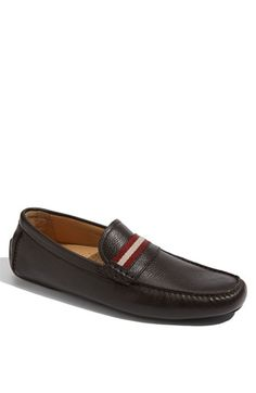 Bally 'Wabler' Loafer (Men) available at - kinds of mens shoes, cool cheap mens shoes, mens fashion shoes Mens Loafers Shoes, Men S Shoes, Loafer Shoes, Cheap Mens Shoes, Best Shoes For Men, Driving Shoes Men, Driving Loafers, Leather Socks, Designer Clothes For Men