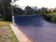 Glebe Mini Ramp (Sydney, NSW Australia) #skatepark #skate #skateboarding #skatinit #skateparkreview