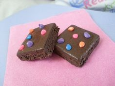 American Girl Food Cosmic Brownies by AGcessories on Etsy, $2.95