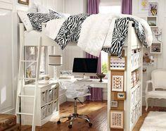 Teenage Girl Bedroom Ideas | Small Spaces | PBteen