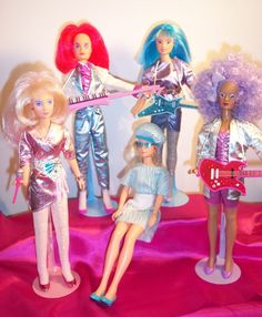 Jem & the Holograms - Jem was the complete '80s package; it was a cartoon series, with catchy songs and soap opera–style story lines. But really all the show served as was a 30-minute commercial for Jem dolls and their many accessories.