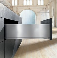 The Legrabox: Blum's Sexy Drawer System with Invisible Slides