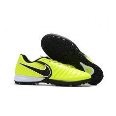 save off f5a44 0ccc8 Nike Tiempo Fútbol - Nuevos Nike TimpoX Finale TF Botas De Futbol Fluo  Verde Negro